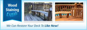 Deck cleaning and deck restoration