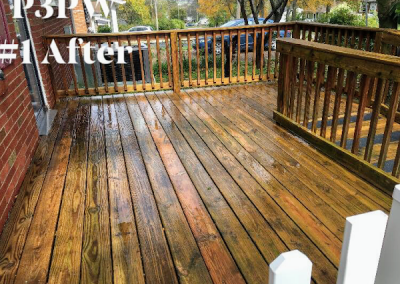 Deck Washing Cold Weather