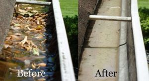 Gutter Cleaning in Nashville, TN by the power washing experts at P3 Pressure Washing